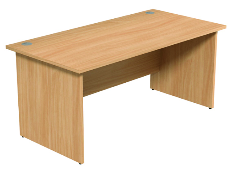 Straight Desk -Beech Top - 1400mm
