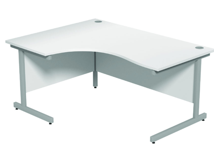 Crescent Desk - Left