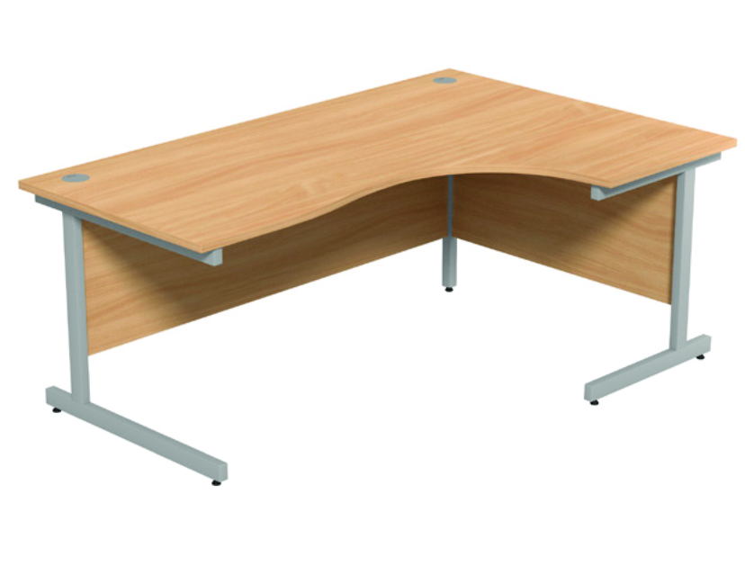 Wave Desk -1600mm - Right