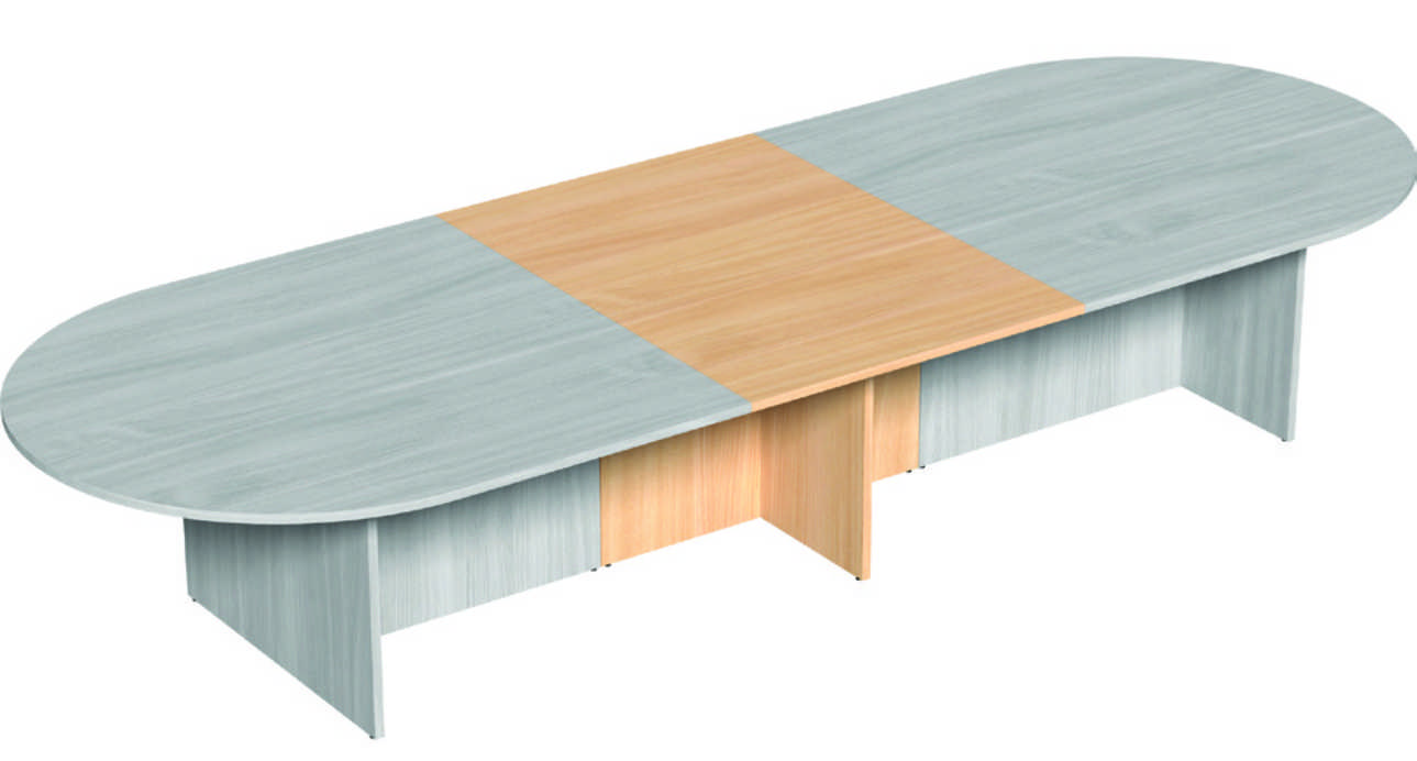 Oval Meeting Table - Add On Section