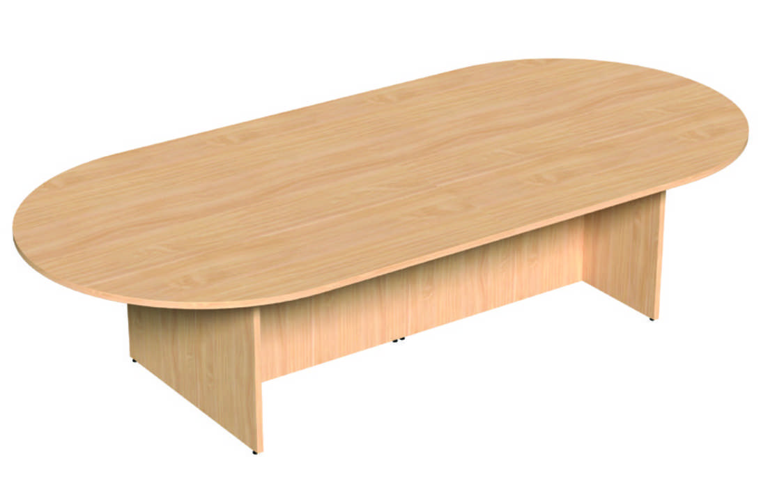 Oval Meeting Table - 1000mm