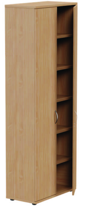 Kito High Closed Storage Unit Beech - 6 Levels 1