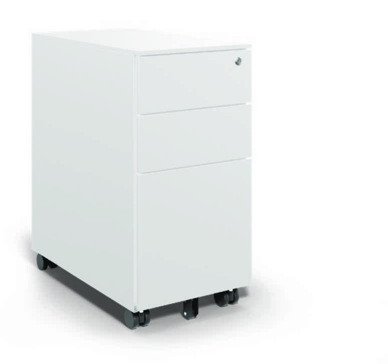 Kito Series Steel Pedestal -White- 300mm