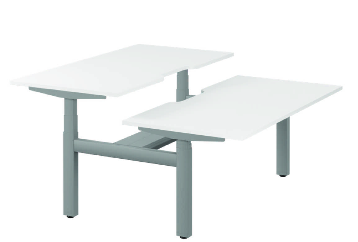 Leap Steelforce 470SLS Desk 1600mm - Scallops