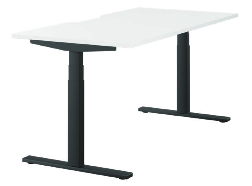 Leap Steelforce 470SLS Desk 1400mm - Scallops