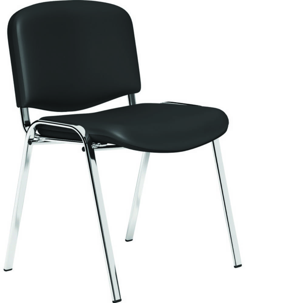 OL Series Meeting Seating Black Vinyl