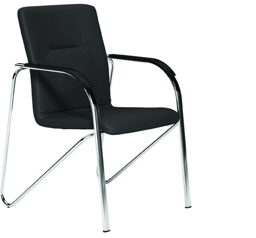 Sandy Meeting Chair - Lotus Black