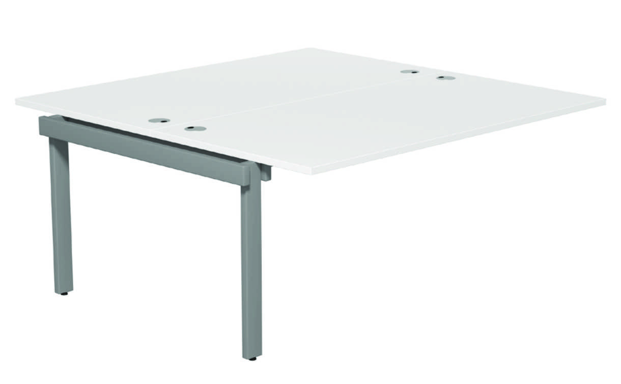 Switch 2 Person Bench Add-on Portal - White- 1600mm  1