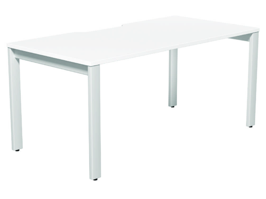 Switch Single Desk Scallop - 1400mm  1