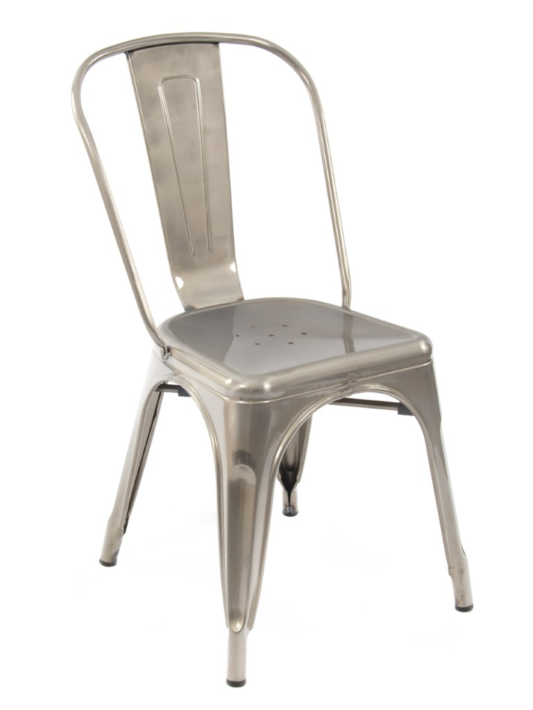 Paris Side Chair (Gunmetal)