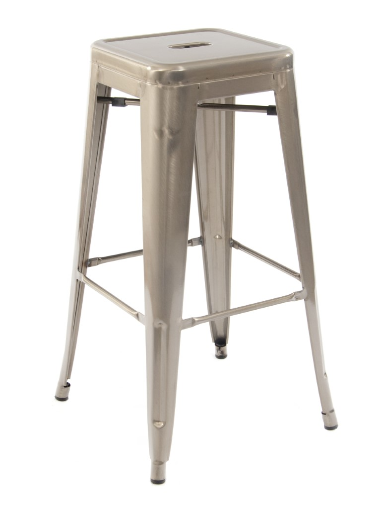 Paris High Stool (Gunmetal)