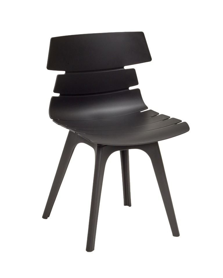 Hoxton Side Chair – R Frame Black