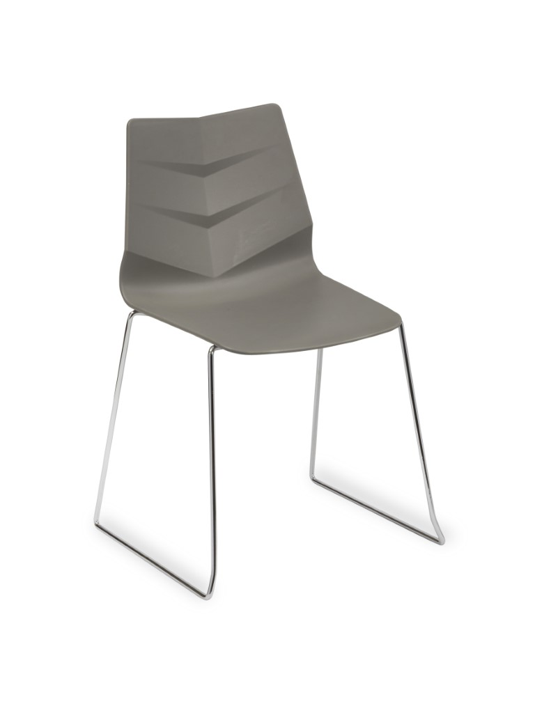 Leaf Side Chair – Skid Frame