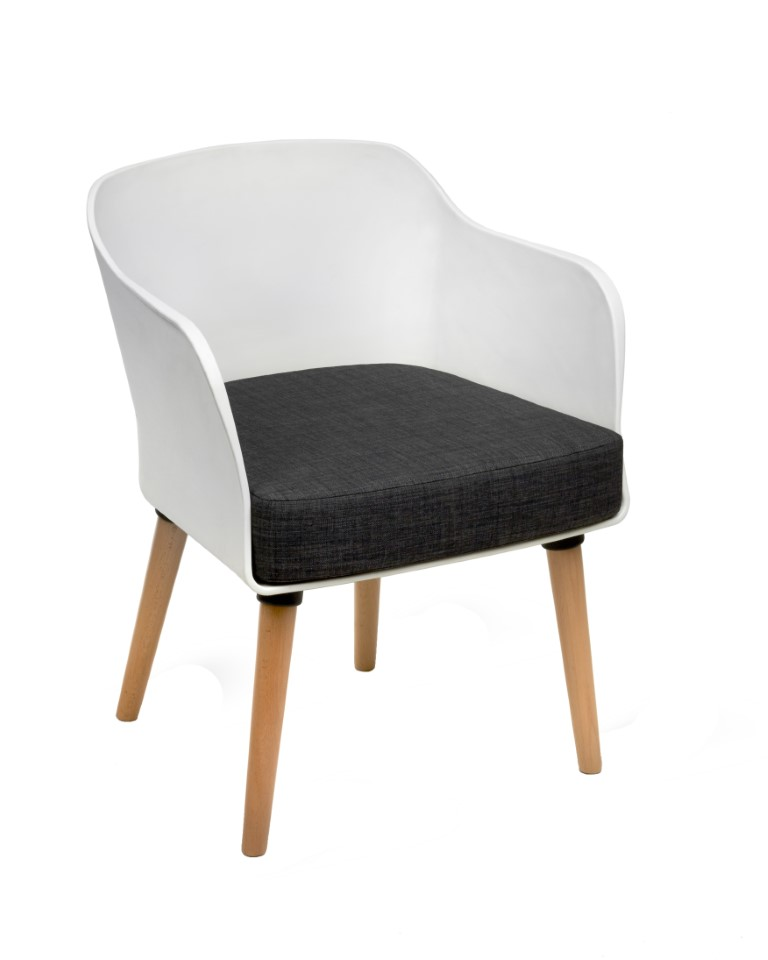 Poppy Tub Chair – 4 Leg 1