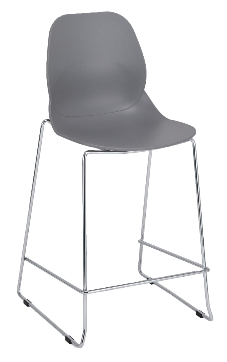 Shoreditch E Frame Mid Height Stool 1