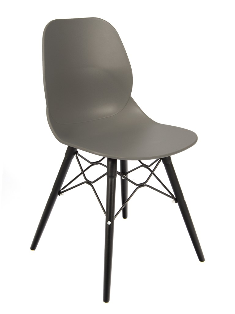 Shoreditch Side Chair – K Frame Black 1