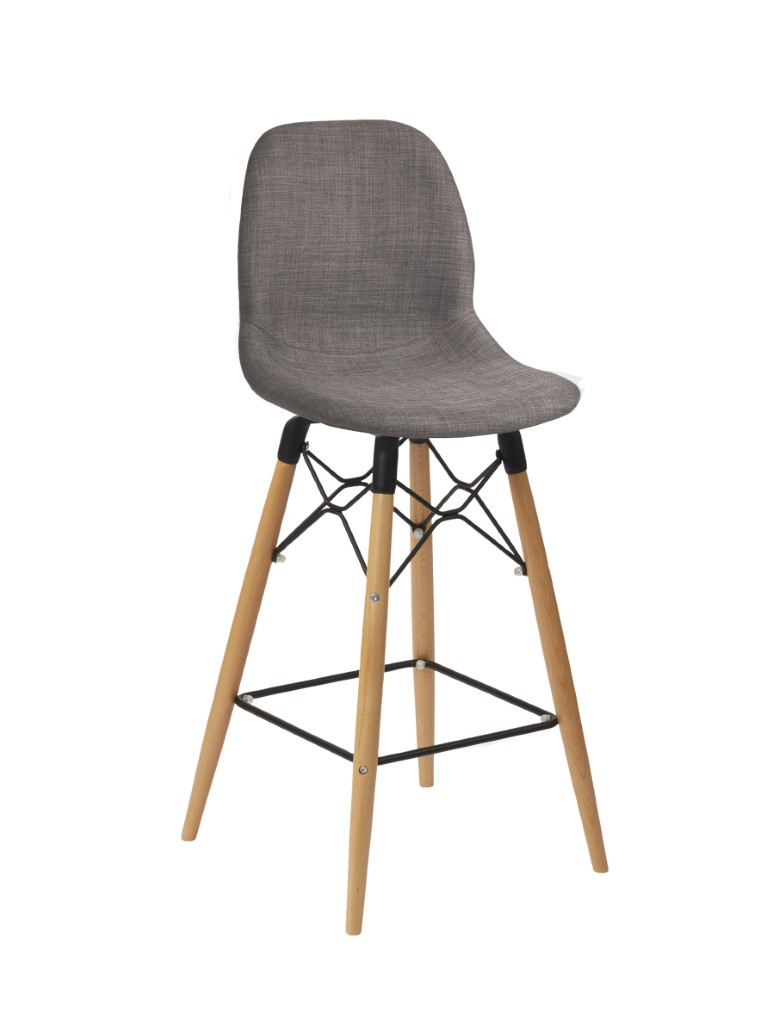 Shoreditch Stool – Upholstered 1