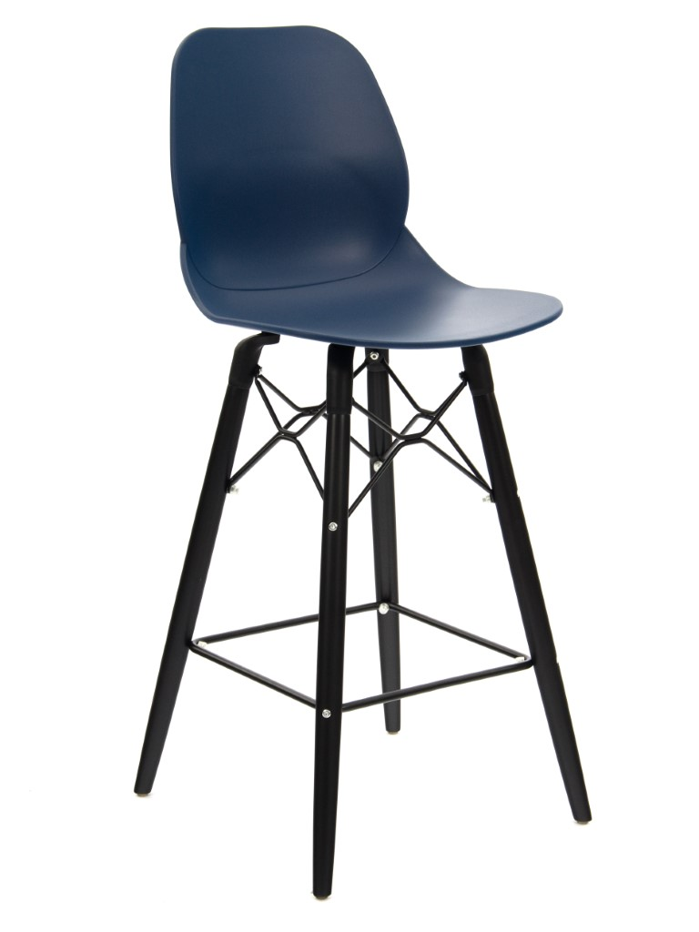 Shoreditch Mid Height Stool Black
