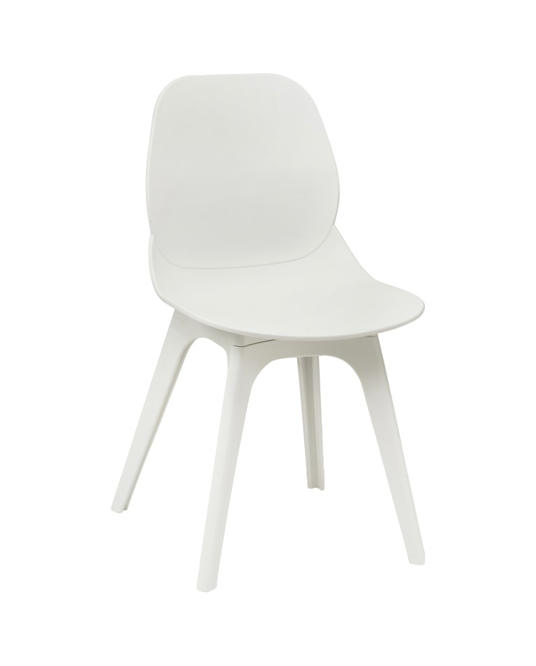 Shoreditch Side Chair – R Frame White 1
