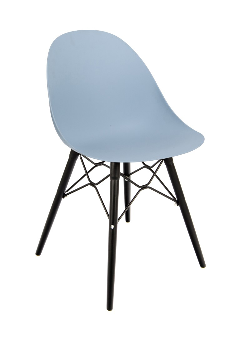 Vivid Side Chair – K Frame Black 1