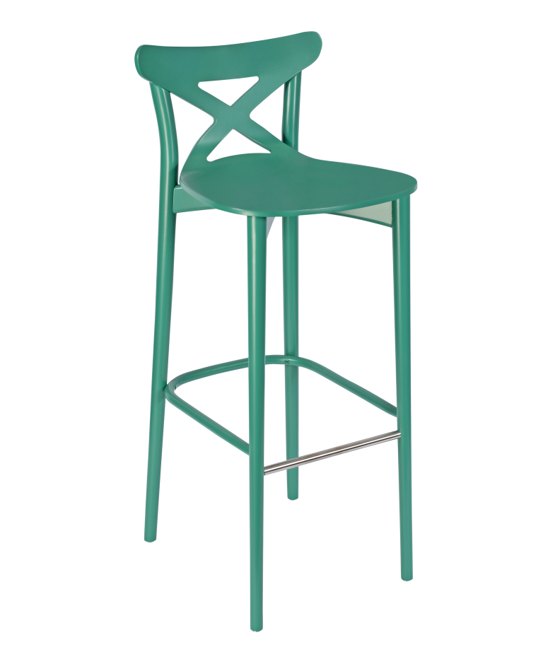 Chiltern Cross Back High Stool 1