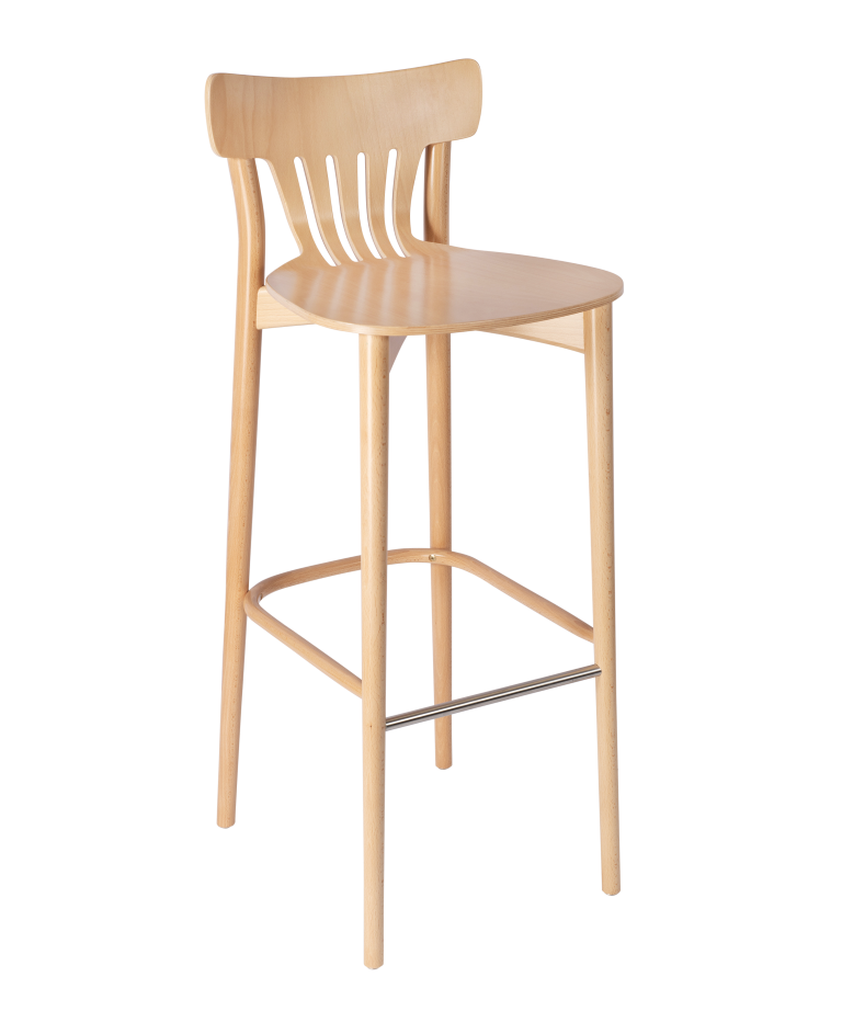 Chiltern Fan Back High Stool 1