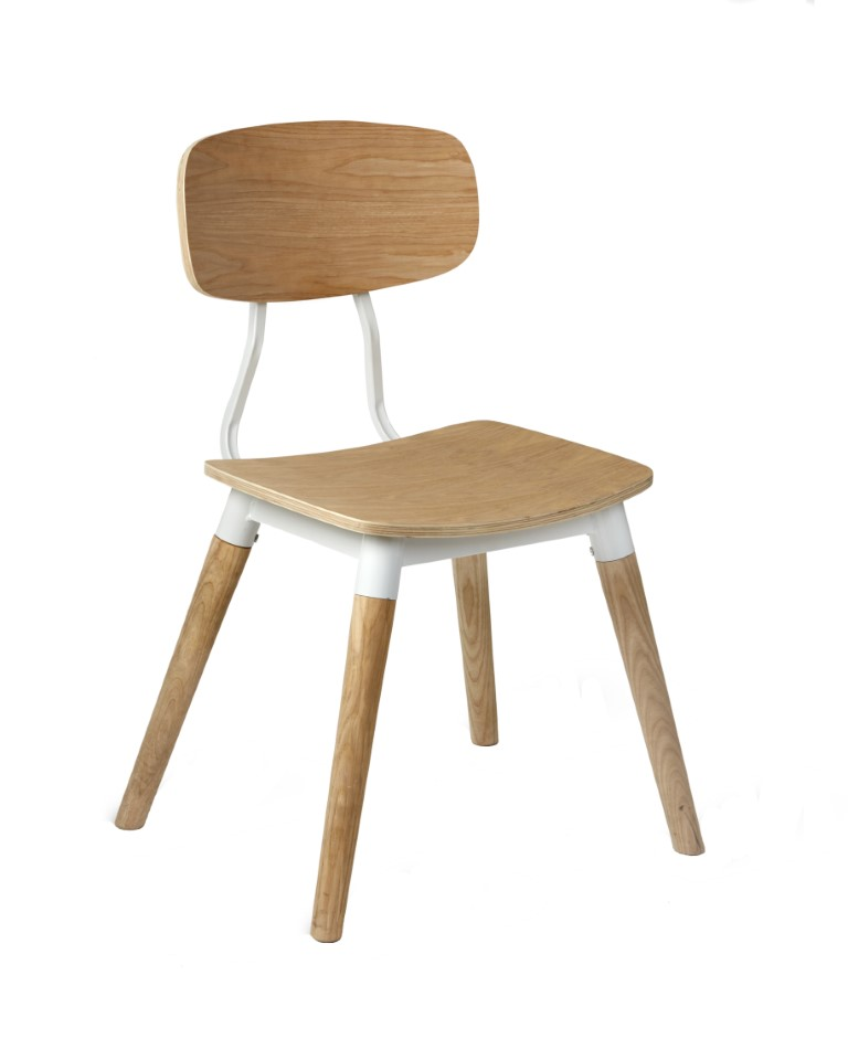 Florence Side Chair – Wood Legs 1